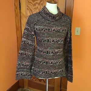 Vintage 70s huge bell sleeves sweater